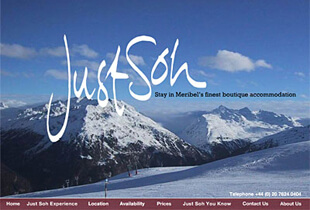 Just Soh - Website