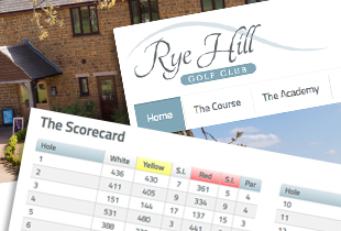 Rye Hill - Website
